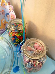 Candy for Bubble Guppies Party Table
