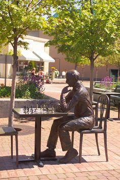 It's your move!  Vogel Plaza in Medford, Oregon