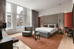 NH Collection Amsterdam Grand Hotel Krasnapolsky--in the middle of city centre; being in walking distance to everything will be a plus!