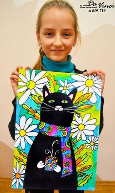Одноклассники Drawing For Kids, Painting For Kids, Cat Drawing, Kids Art Class, Art For Kids, Art Lessons Elementary, Autumn Art, Art Classroom, Art Club