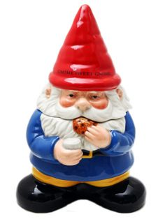"""Gnome Sweet Gnome"" Cookie Jar by Pacific Trading"