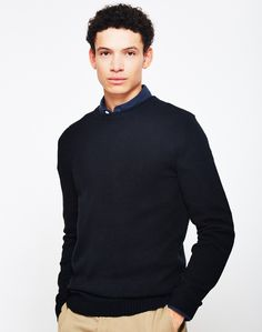 New In   Dickies Shaftsburg Jumper in Black   Shop all men's clothing at The Idle Man