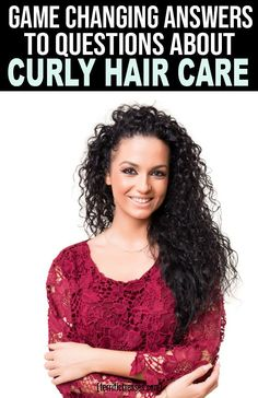 Want some naturally curly hair tips and tricks to help you deal with your messy,. - Want some naturally curly hair tips and tricks to help you deal with your messy,. Dry Curly Hair, Curly Hair Tips, Hair Care Tips, Wavy Hairstyles Tutorial, Curled Hairstyles, Easy Hairstyles, Natural Curls, Natural Hair Styles, Hair Turban