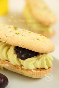 dailydelicious: Pistachio Dacquoise: One great dessert from one of great books!