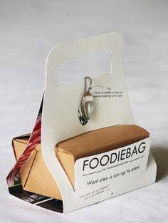 De Foodiebag, een doggy bag zonder lulligheid, van ontwerpbureau VerdraaidGoed wint de Innovatie Award voor...