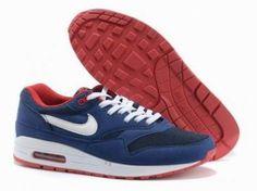Nike Air Huarache heren sneaker. Su��de. Blauw en Wit. Hoog model. | Nike Huarache | Pinterest | Models