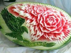 Edible art ~ watermelon