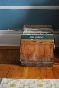 Record storage is always a challenge.