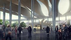 Gallery - Sordo Madaleno & Pascall+Watson Presents Proposal for New Mexico City Airport - 8