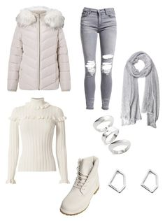 """""""Untitled #201"""" by susannhaabeth on Polyvore featuring Miss Selfridge, Cinq à Sept, AMIRI, Timberland, Sophie Buhai and Witchery"""