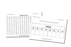 RECURSOS PRIMARIA | 100 matrices para trabajar la dislexia ~ La Eduteca