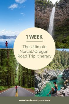 The Ultimate Norcal/Oregon Road Trip Itinerary for Any Outdoors Lover - I feel like Southern Oregon and the very northern areas of California are both places that are not - Road Trip Oregon, Us Road Trip, Road Trip Hacks, Oregon Travel, Travel Usa, Travel Packing, Humboldt Redwoods State Park, Northern California Travel, Sequoia