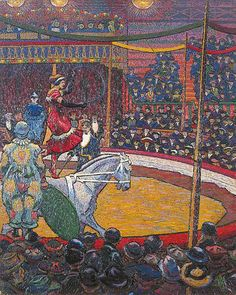 Charles Ginner The Circus