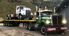 WHITE. ROAD-BOSS, Semi-Trailer. Semi Trucks, Old Trucks, Western Star Trucks, White Truck, Semi Trailer, Kenworth Trucks, Firefighter, Trailers, Concrete
