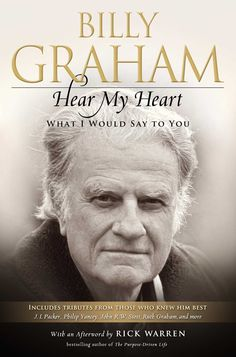 """""""Heart My Heart"""" captures Billy's heart and provides an intimate portrait of a man who loved Jesus, who lived by Jesus' words and a man who introduced his Friend to everyone he met."""