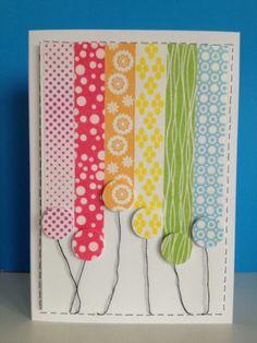 Rainbow balloons (for Kristin)
