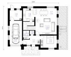 Resultado de imagen para planos de casas de un piso en metros 140  español