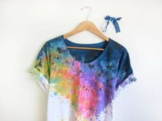 I really like this, even though it is a bit tie-dye.