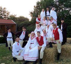 Folk costumes from Biłgoraj, Poland.