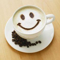 Smile :) latte art