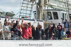 Enjoy sailing at Hanse Sail Rostock!