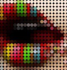 Free Photoshop Tutorials @ PinkZAP.com» How to Make Circle Pixels (Pop-art Style)