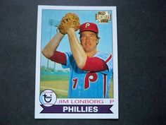 2001 Topps Archives #375 Jim Lonborg Phillies NM/MT