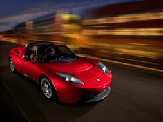 2009 Tesla Roadster - Even I could be a fan of electric cars if they were like this one...