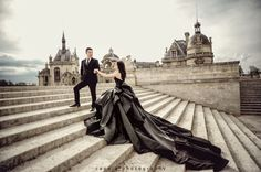 Close your eyes and imagine the most stylish pre-wedding session in Europe, well this is it!