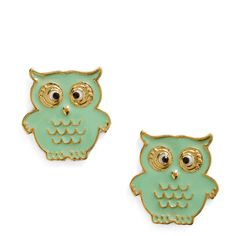 A Little Owl Told Me Earrings (855 RUB) ❤ liked on Polyvore featuring jewelry, earrings, accessories, owl, brincos, nickel free jewelry, nickel free earrings, earrings jewelry, metal jewelry and owl jewellery