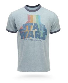 #StarWars Retro Ringer t-shirt from @ThinkGeek - A long time ago in a wardrobe far, far away.... $27.99