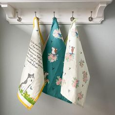 Recipe tea towel set of 2 kitchen towel handmade in USA Linen Towels, Tea Towels, White Husky, Hungry Caterpillar Party, Dog Mom Gifts, Diy Pillows, Family Gifts, Kitchen Towels, Towel Set