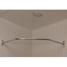 Neo Angle Solid Brass Shower Rod And Ceiling Support | Neo Angle Shower, Shower  Rod And Jetted Tub