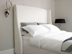 Rowe Super King Size Headboard | The English Bed Company