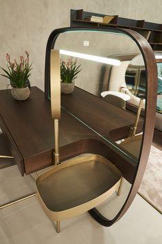 Fimes, Salone del Mobile 2017, Milano #vanity #bed #nightstand #bedroom #closet #slidingdoors #leafdoors #interiordesign #design #modern #contemporary #madeinitaly #salonedelmobile #fieradelmobile #isaloni #fieramilano #luxury #glamour #artdeco #fimes #dresser #tvunit #sofa #mirror #silver #gold #leather #glossy #swarovski #fimeshomedesign #homedesign #clay #bookcase #walkingcloset #cornerbed #isaloni2017 #ilsalonedelmobile2017 #milanodesignweek2017