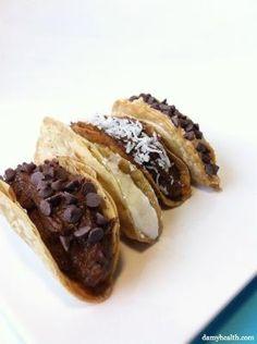 Healthy Chocolate Tacos (Dessert Tacos) | Amy Layne Paradigm Blog by maryann.davis.355