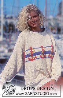 So comfy looking...nautical sweater pattern