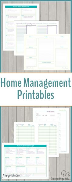 Home Management – Free Printables I would be lost without my homemangement binder. It is such a big help when it… The post Home Management – Free Printables appeared first on Best Of Daily Sharing. Home Management Binder, Money Management, House Management, Property Management, Office Management, Wealth Management, Household Binder, Household Notebook, Budget Binder