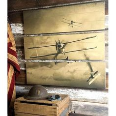 Bomber Plane Triptych And Aviation Decor On Pinterest