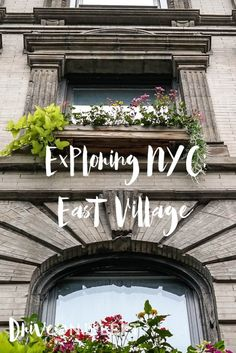 New York City Neighborhood Guide: East Village