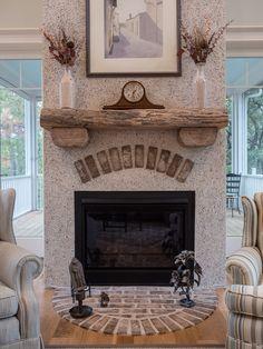 Outdoor Tabby Fireplace at Jim Shaw's Seafood Macon GA | Jardin ...
