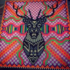 Hama perler bead art by Louise Thomsen