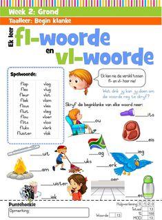 Afrikaans Language, Homeschooling, Teaching, Education, Comics, Afrikaans, Cartoons, Onderwijs