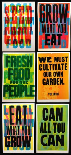 Mary Mortimer - Food Justice series printed with Amos Paul Kennedy at Detroit Printing Plant 2014