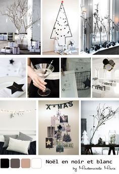 Wonderwall: Pretty palette - christmas in black and white