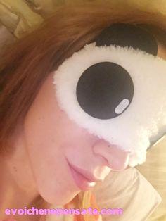 Bornprettystore #1: Sleeping Mask la Maschera per dormire super economica |