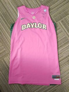 Nike Elite Baylor Bears Breast Cancer Awareness Pink Basketball Jersey Size  48  AdidasBasketballShoes. Basketball Drills · Adidas Basketball Shoes b4664696b