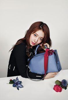 Park shin hye for bruno magli