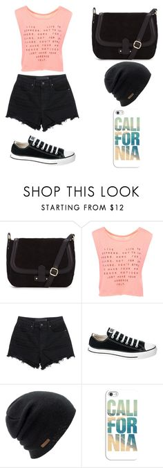 """Untitled #88"" by karenrodriguez-iv on Polyvore featuring Pull&Bear, T By Alexander Wang, Converse, Coal, Casetify, women's clothing, women, female, woman and misses"