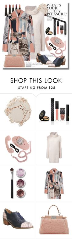 """Profile Pic"" by staciplus3 ❤ liked on Polyvore featuring Shiseido, Gucci, Fendi, Bare Escentuals, Carven and Miss L Fire"